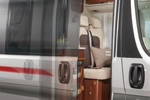 Schiebetür Elektrisch adria cingbusse 2016