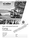 Preisliste Reimo Maxi Camp auf VW Caddy - PDF Download
