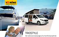 Download brochure on REIMO TrioStyle camper van based on Mercedes Vito [PDF file]