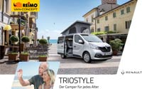Download brochure on REIMO TrioStyle camper van based on Renault Trafic and Opel Vicaro [PDF file]