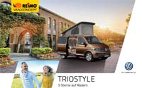 Download brochure on new Reimo model TrioStyle on VW T6 - PDF file