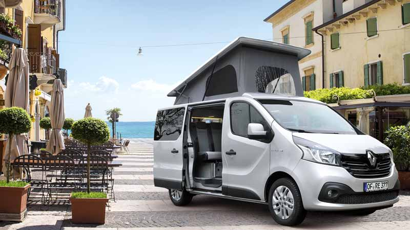 opel vivaro camper renault trafic wohnmobil campingbus reimo triostyle. Black Bedroom Furniture Sets. Home Design Ideas