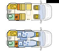 Campingbus Adria Twin 500 S
