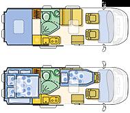 Campingbus Adria Twin 600 SHX
