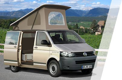 Hedendaags Reimo Campingbus Modelle 2016 auf Volkswagen Transporter VW T5 CX-18