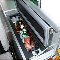 Campingbus Reimo CityVan mit Kompressor-Kühlbox für große Flaschen