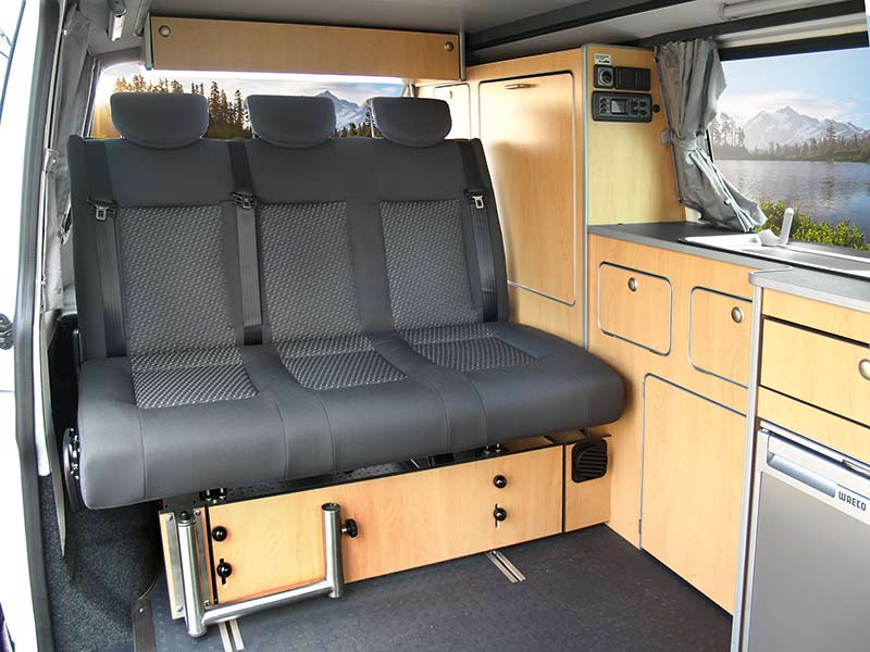 umbau zum wohnmobil vw t5 t6 kurzer radstand reimo sportvan ebay. Black Bedroom Furniture Sets. Home Design Ideas