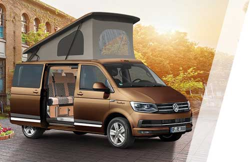 der neue volkswagen transporter campingbus ausbauten von reimo. Black Bedroom Furniture Sets. Home Design Ideas