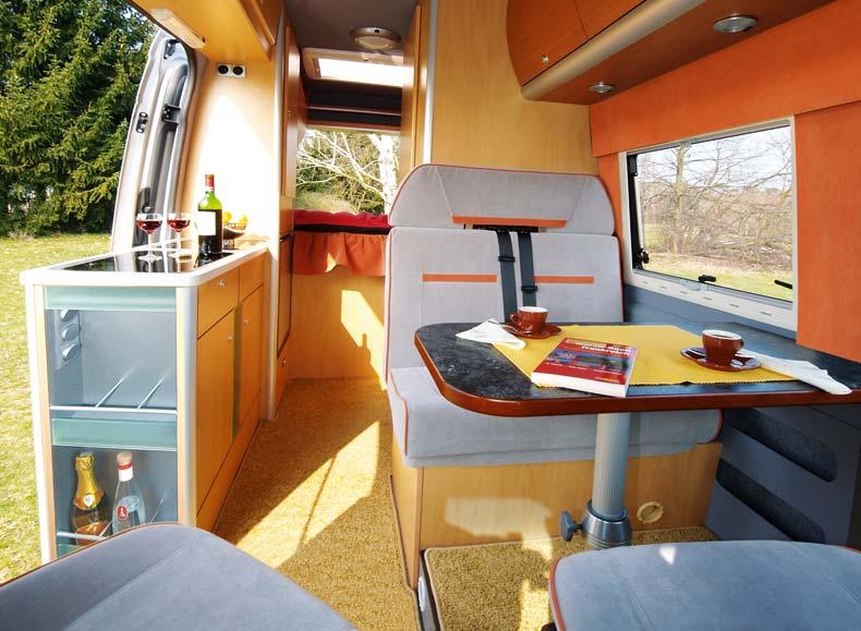 Reimo LWB Sprinter Crafter Conversion Camper InteriorSprinter CamperMercedes SprinterVan DwellingCampervanFloor PlansSprinter