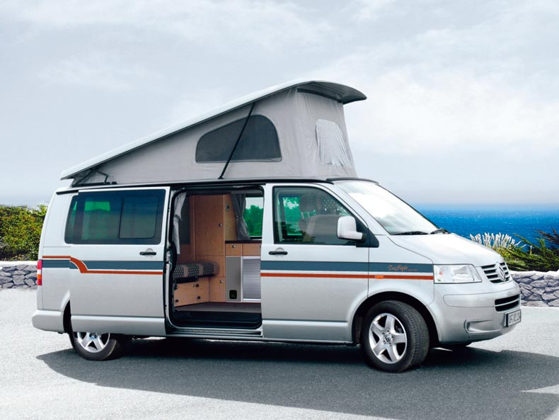 campingbus reimo triostyle exclusiv auf vw t5 caravelle. Black Bedroom Furniture Sets. Home Design Ideas