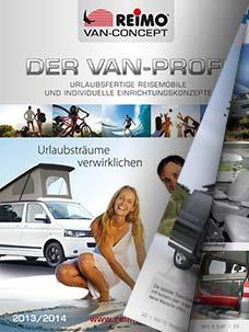 Der Reimo Van-Profi 2013/2014 liegt leider nicht als Blätterkatalog