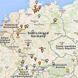 Our motorhome conversion partners in Germany, Austria and Switzerland