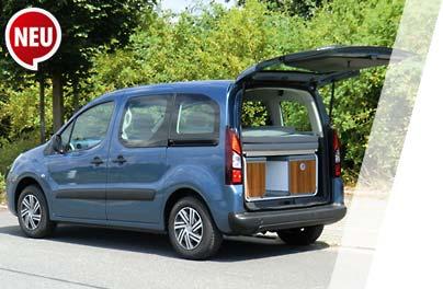 Reimo Minicamper Auf Verschiedenen Minivan Modellen