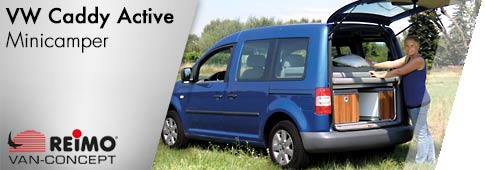 Minicamper Reimo VW Caddy Active