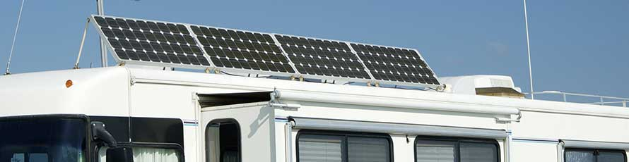 12v Solar Panels - gain free electricity from solar panels for motorhomes, solar panels for caravans