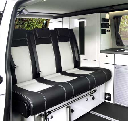 Campervan Conversion Kit TrioStyle for VW T5 & VW T6 swb