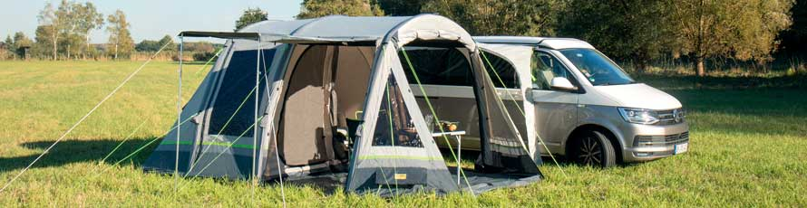 Van Awning, Camper Awning, Campervan Awnings, Campervan Air Awning, Campervan Drive Away Awning