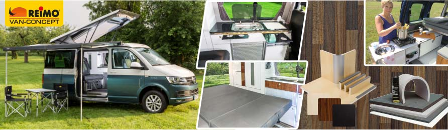 Camper Van Conversion - Shop - Reimo Campingbus