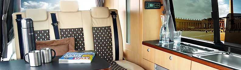 Reimos Camper Van Conversions For VW T5 And T6 Long Wheel Base