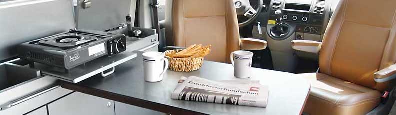 Campervan Conversion Kit CityVan For VW T5 T6 Swb