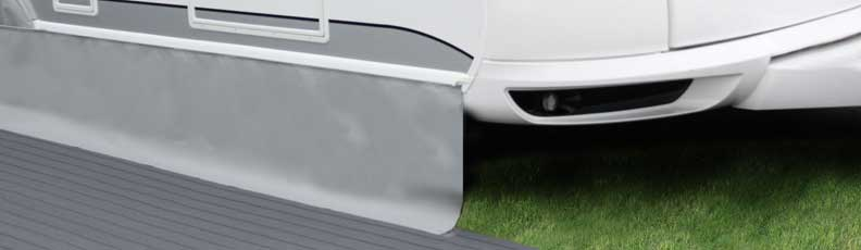 Caravan Draught Skirt - Caravan Awning Skirt - Caravan Skirting - Wheel Arch Cover