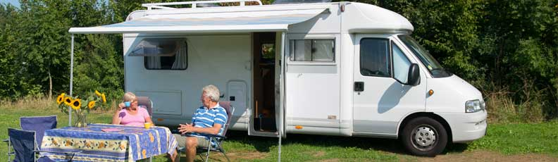 Caravan awnings, Motorhome awnings, retractable awning, Fiamma, Omnistor