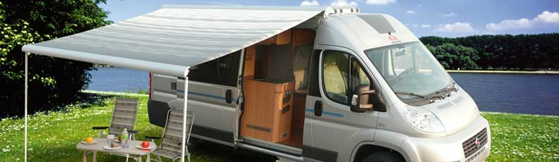 Markisen Vans Campingbusse