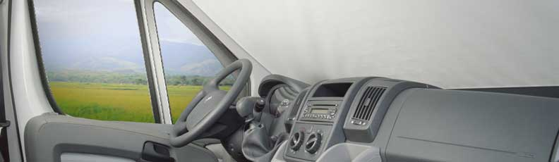 Motorhome Cab Window Blinds, Cabin Blinds