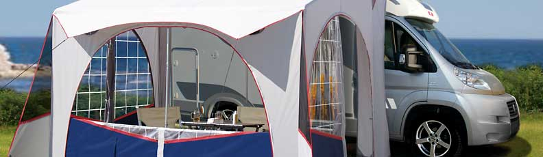 Motorhome awnings, campervan awnings