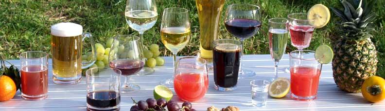 Trinkgläser, Camping Gläser