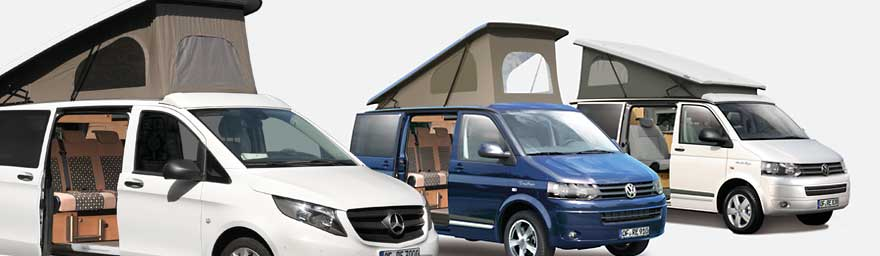 Camper Van Roofs - Pop Top Roofs, High Top Roof - Campervan