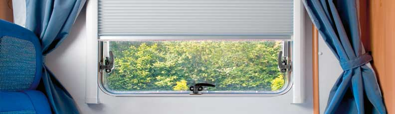 Remis Window Blinds, Remis Motorhome Blinds