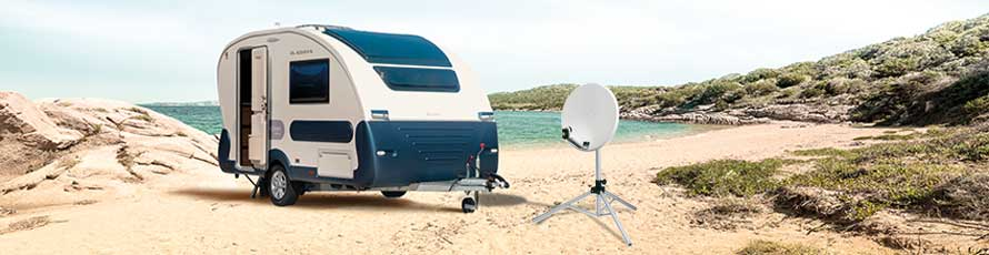 Antenne satellite camping-car manuelle camping-car, Antenne satellite de camping, jardin et maison