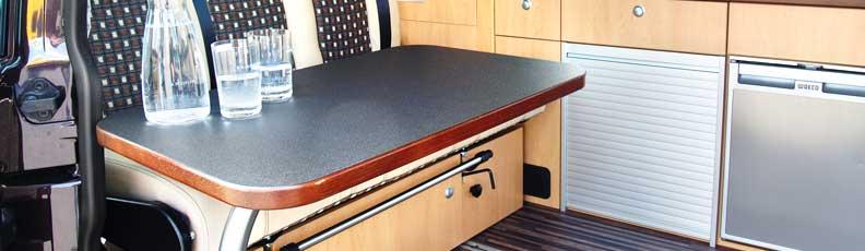 Campingbus Tisch.Klapptischfuß Hubtischgestell Schwenktisch Tische Für
