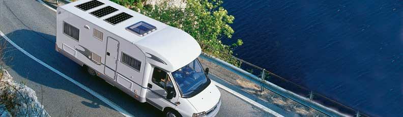 Solaranlage, Solarbatterien für Wohnmobile - Camping-Shop