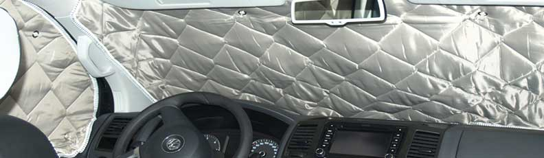 Thermal Camper Blinds and Isoflex Thermal Screens for Motorhomes & Campervans
