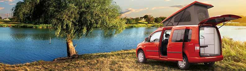 VW Caddy Conversion / VW Caddy Camper Conversion - Camper
