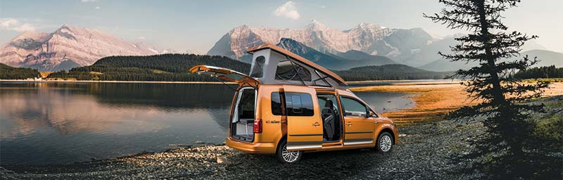 VW Caddy Conversion, Caddy Camper Conversion, Caddy Maxi Camper Conversion, VW Caddy Maxi Conversion