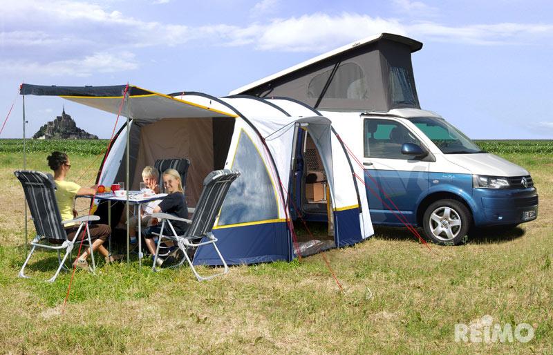 vw bus camping zelt