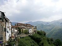 Italian mountain villages by motorhome