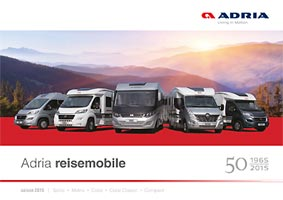 Adria Katalog Reisemobile - PDF Download