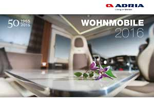 Adria Katalog Reisemobile 2016 - PDF Download