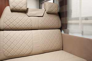 Adria Sonic Supreme - Polsterstoff Leather Beige