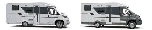 Adria Compact Fahrerhausfarben: Weiß oder Grau-Metallic