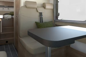 Adria Compact - Polsterstoff Leder Fuomo title=