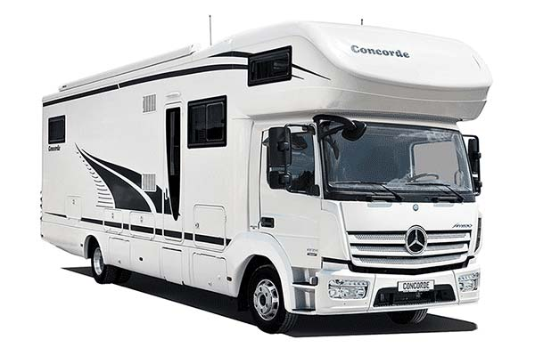 luxus wohnmobil concorde cruiser atego 890 l modell 2014. Black Bedroom Furniture Sets. Home Design Ideas