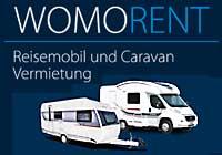 Wohnwagen-Vermietung WOMORENT in Egelsbach bei Frankfurt/Main