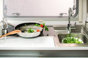 Adria  Altea - Küche Detailansicht width=