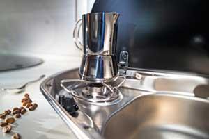 Adria Move 512 PT  - Detailansicht Küche