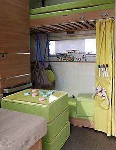 Wohnwagen Adria Adora 613 PK mit Kinderzimmer